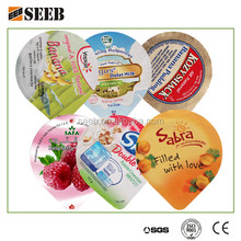 PS Yogurt Cup Aluminum Foil Lid / Foil Lid for PS Cup / Foil Lid For Dairy