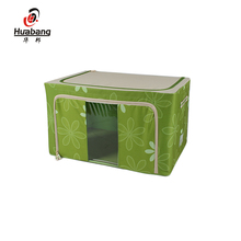 Reusable Closet Organizer Non Woven Decorative Foldable Storage Box