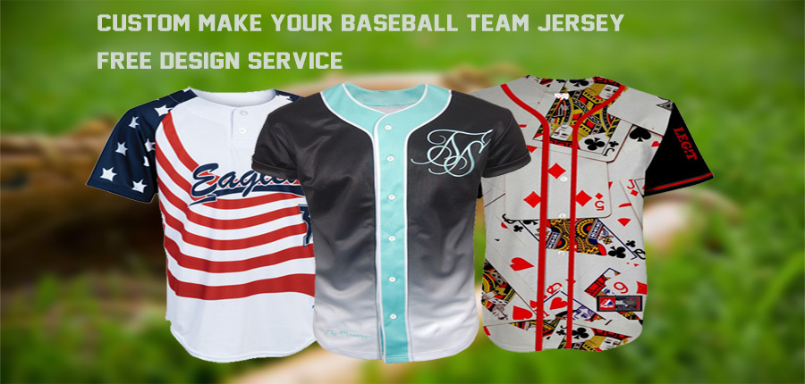 Customized Sublimated Blank Black Baseball Jersey