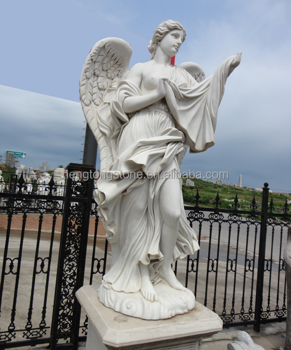 Large garden stone angel statue for sale buy garden for Large garden stones for sale