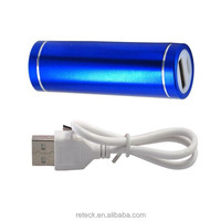 portable cylinder emergency charger power bank stick for mobile