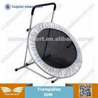 Lovely cute folding gym jumping single bungee trampoline for Sale