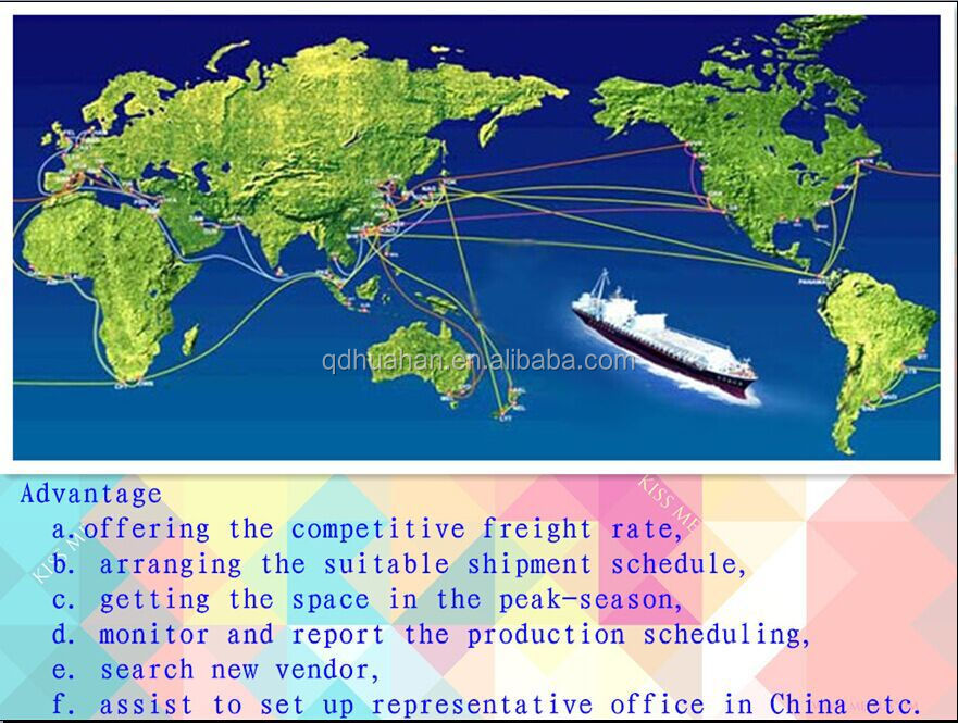 Competitive international shipping from china to sudan