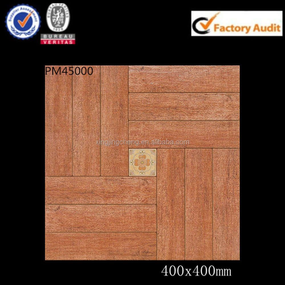 wooden looking small size floor 40x40 ceramic tile dealers