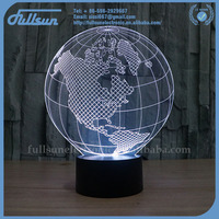 FS-2818 world map shape led dome light fancy light manufacturers in china