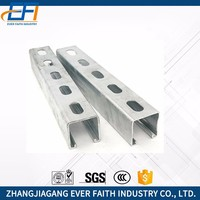 Stainless Steel Unistrut C-Type Slotted Strut Channel