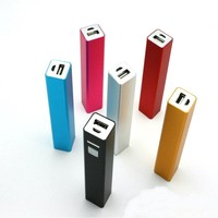 China supplier , new product 2600mah power bank for cell phone power bank charger