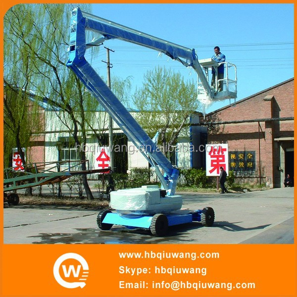 Self propelled elevation platforms for construction