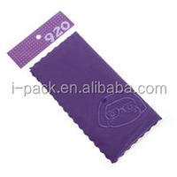 screen printing microfiber jewelry pouch/silk cloth sunglasses bag/small microfiber drawstring