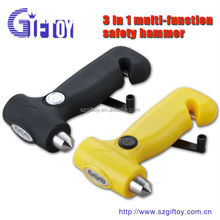 Car safety hammer with led flash light