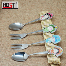 2015 new design wedding set chinese style cutlery promotion flatware hot sale