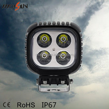 40w led work light square, Guangzhou forklift manufacturers cheap headlight