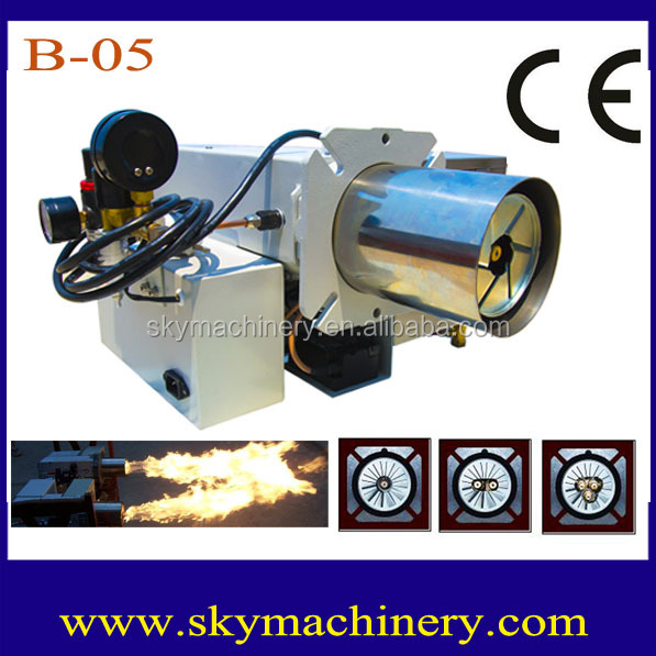 CE Certified B-05 Combustible Diesel Burner design