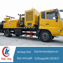 Pothole patcher road repair hot regeneration truck