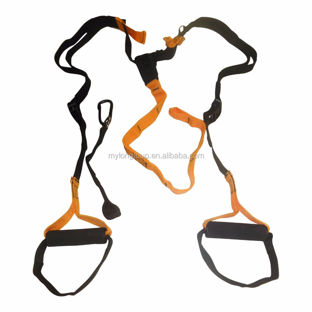 New Color Sport Resistance Bands Strength Training Fitness Equipment Spring Exerciser Suspension Hanging Training Strap