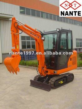1.7t yanmar or kubota engine excavator