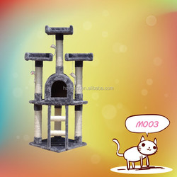 happy pet wooden cat tree,cat scratching pole