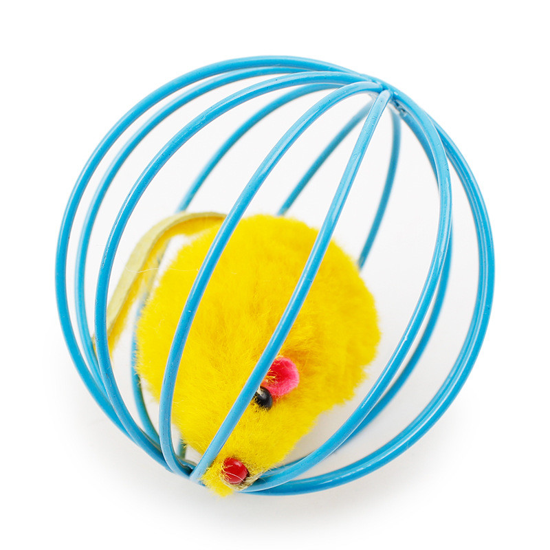 Popular New Cat Toy Mouse Ball Lovely Kitten Gift Funny Play Toys Mouse Ball Best Gift For Pet Cats Products