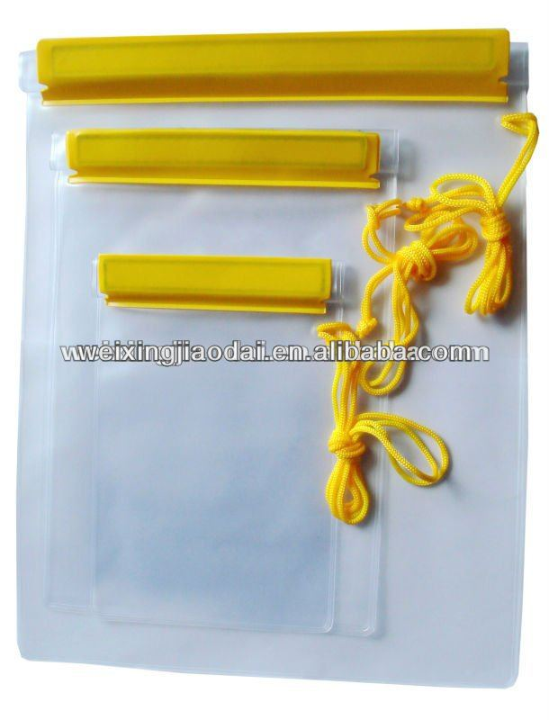 Factory For iPad Waterproof Case large water resistant bag to hold wallet mobile camera