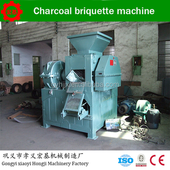 ISO Certificate coal briquette machine as sawdust briquette charcoal making machine