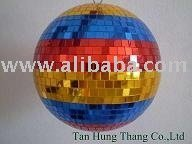 Mix colored mirror ball ( Rainbow mirror ball )