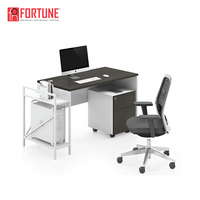 Executive Metal Melamine Curved Office Desk Furniture For Office