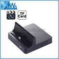 Charging Dock Style HD 720P 5.0 Mega CMOS Motion Detection Video/Audio Recorder