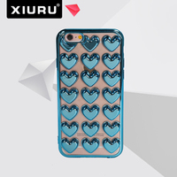 cell phone case transparent for iphone 6s case armor