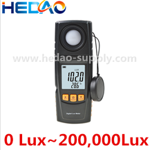 200,000 Digital Light Meter Luxmeter Photometer Luminometer