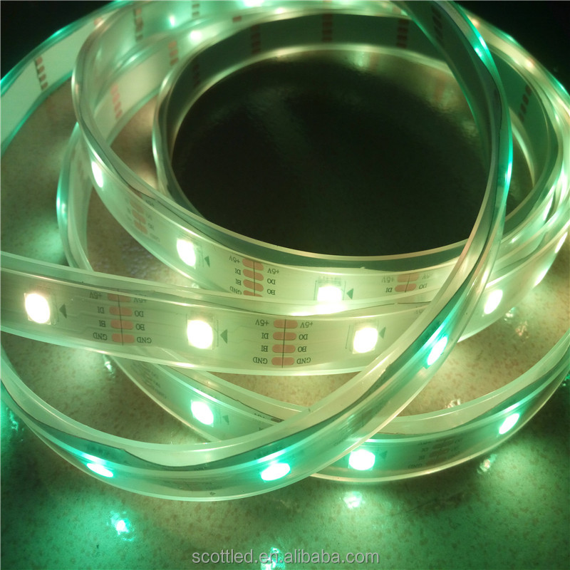 waterproof ws2813 5V/12V/24V color changing led strip lighting ws2811 32leds/meter high quality cheap price
