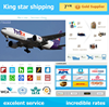 Cheap rates door to door Amazon Fba/alibaba express Air shipping from China to Long Beach USA