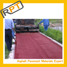 CAS certificate colored cold asphalt for road pavement