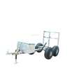 Good quality small size outdoor car trailers cargo utility motorcycle trailers
