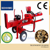 Hot!!50 Ton Log Splitter With Double Valve And Honda&EPA Engine,Holzspalter