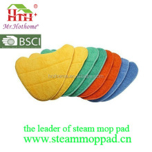 8-in-1 Microfiber cleaning steam mop pads making by machine,Electric coral cleaning pads