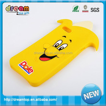 Cute duck silicone phone shell for iphone 5