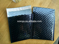 Aluminum foil courier packing padded mailer air bubble bag
