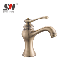 retro single outdoor sink brass taps upc wash bathroom sanitary ware shower face laundry water basin faucets