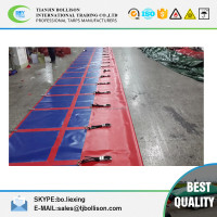Waterproof and High Tear Strength PVC Tarpaulin Printed Truck Side Curtain Cover Fabric