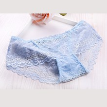hot sale sexy girls transparent lace panties women underwear panties for young