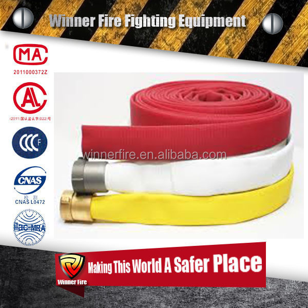 High Quality Double jacket expandable flexible Lay Flat Fire Hose