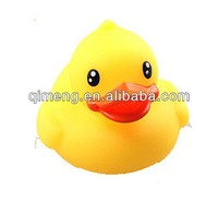 hot selling toys yellow duck bath toy for promotion