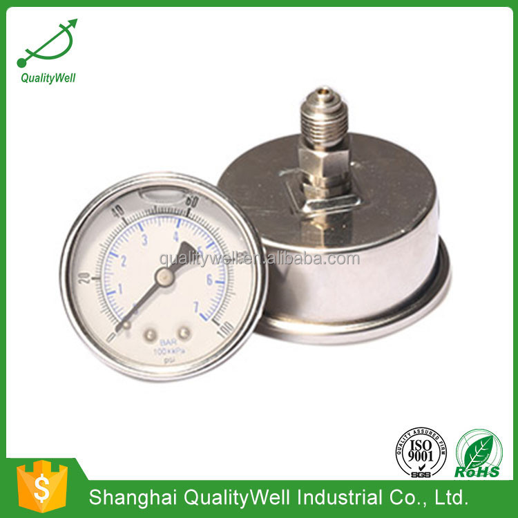 Wholesale High Quality Bourdon Tube Pressure Gauge