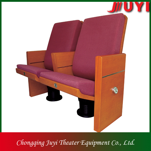 JY-912 luxurious Comfortable wooden theater teatro silla hall office conferrence home house chair
