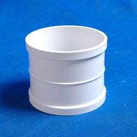 pvc drainage pipe fittings expansion coupling