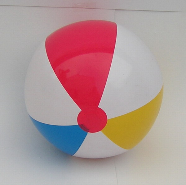 2018 cheap and colorful toys plastic pvc inflatable beach ball for kids