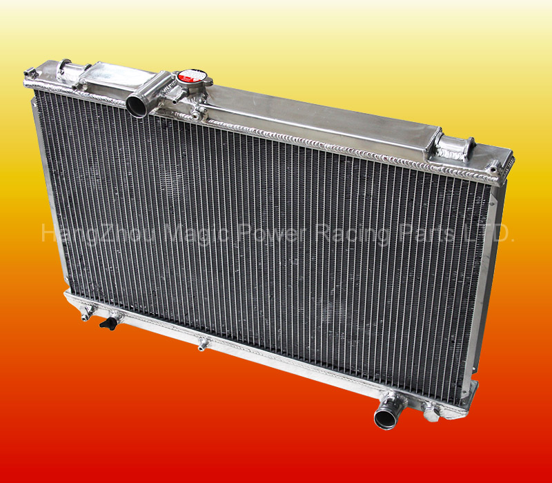 Aluminum Water Radiator For T*OYOTA MARK II 2 JZX100 1JZ-GTE MT 1996 1997 1998 1999 2000
