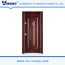VIRONY cold rolled steel inside turkish steel security doors