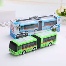 1:64 Scale small pull back shuttle bus children's metal die cast model musical car toy
