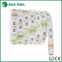12v/24v 16.4ft/roll 6500k led strip lights RGBW high lumen led tapes 60LEDs/m